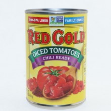 Red Gold Dice Tomatoe