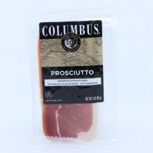 Columbus Prosciutto No Artificial Colors or Flavors Added No Preservatives and No Nitrates Added