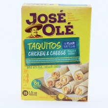 Jose Ole Taquitos with Chicken  and  Cheese In Flour Tortillas 15 Taquitos 20 oz