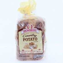 Brownberry Country Potato Bread, No High Fructose Corn Syrup, No Artificial Colors or Flavors and 0g Trans Fat  24 oz