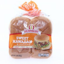 Brownberry Sweet Hawaiian Sandwich Buns 24 oz