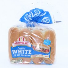 Brownberry Country White Hot Dog Buns  8 buns