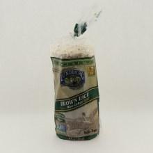 Lundberg Brown Rice Cakes Salt-Free, Gluten Free, Vegan, Non GMO 8.5 oz