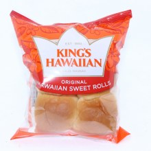 Kings Hawaiian 4 Sweet Rolls