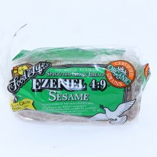 Food for Life Ezekiel 4:9 Sesame Bread, No Preservatives, Complete Protein, 24 oz. 24 oz