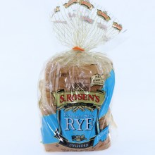 S Rosens Bohemian Style Rye Bread Unseeded Restaurant Size No Trans Fat  24 oz
