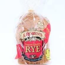 S Rosens Famous Quality Rye Bread with Caraway Seeds  16 oz