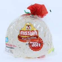 Mission Fajita Flour Tortillas, Super Soft, 20 Count  26 oz