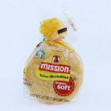 Mission Yellow Corn Tortillas Super Super Soft Gluten Free 30 count 25 oz