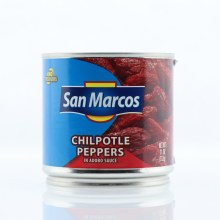 San Marcos Chilpotle Peppers in Adobo Sauce No Preservatives