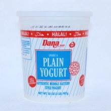 Dana Plain Yogurt  32oz 32 oz