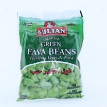 Sultan Premium Green Fava Beans No Cholesterol No Preservatives 14.1 oz
