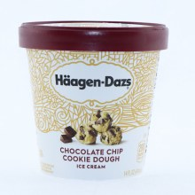 Haagen-Dazs Chocolate Chip Cookie Dough Ice Cream 14oz.