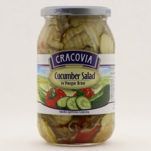 Cracovia Cucumber Salad in Vinegar Brine 860 g
