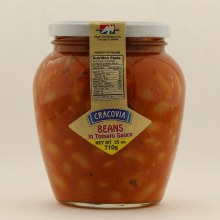Cracovia Beans in Tomato Sauce  25 oz