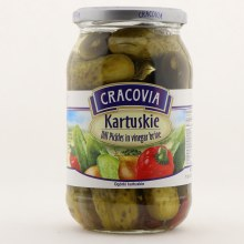 Cracovia Kartuskie Dill Pickles in Vinegar Brine 30.33 oz