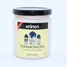 Krinos Taramosalata. 8 oz Greek Style Caviar Spread 8 oz