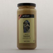 Krinos Imported Tahini Gound Sesame Seeds No Trans Fat No Cholesterol 16 oz