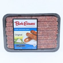 Bob Evans Original Pork Sausage Links Made with Premium Cuts of Pork