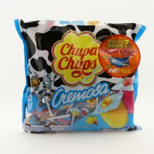 Chupa Chups Cremosa, Artificially Flavored Strawberry Yogurt And Mango Yogurt Lollipops 16.93 oz