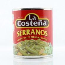 La Costena Serrano Peppers