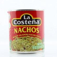 La Costena Nachos, Pickled Jalapeno Nacho Slices, No Preservatives Added 26 oz