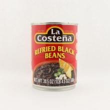 La Costena Refried Black Beans  20.5 oz