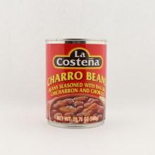 La Costena Charro Beans 20 oz