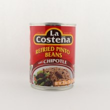 La Costena Refried Pinto Beans with Chipotle 20.5 oz