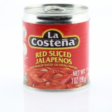 La Costena Sliced Red Jalapeno