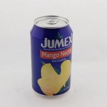 Jumex Mango Nectar From Concentrate  Pasteurized Product  Naturally Free of Saturated Fat  Trans Fat Free  Cholesterol Free  Low Sodium