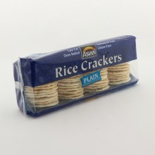 Asian Gourmet Plain Rice Crackers