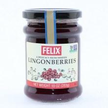 Felix Lingonberries Jam  10 oz