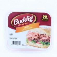 Budding Ham Slices