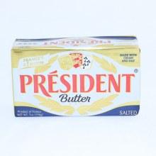 President Butter, Salted. 7 oz bar.  7 oz