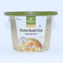 Panera Bread Chicken Noodle Soup with All White Meat Chicken