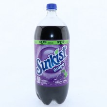 Sunkist Grape Soda  2 lt