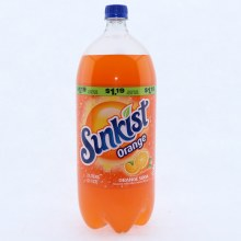 Sunkist Orange Soda  2 lt