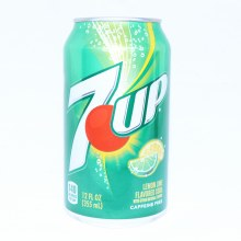 7UP Lemon Lime Soda Caffeine Free 12 FL. oz