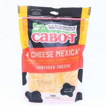 Cabot 4 Cheese Mexican Shred