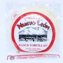 Nuevo Leon TOrtillas Flour 10 oz  10 oz