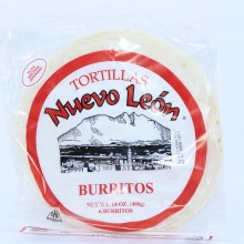 Nuevo Leon Flour Tortillas Burritos 14 oz  14 oz