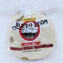 Nuevo Leon White Corn Tortillas Family Pack  27 oz