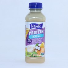 Naked Protein Protei Blend with 4 Juies. No Sugars Added No Preservatives Added Gluten Free.