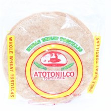 Atotonilco Whole Wheat Tortillas 18 oz