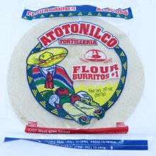 Anotonilco Flour Tortillas