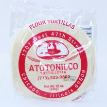 Atotonilco Flour Tortillas, 12 oz.  12 oz