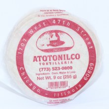 Atotonilco Corn Tortilleria 9.oz