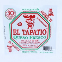 El Tapatio Queso Fresco Mexican Style Crumbling Cheese 10oz.