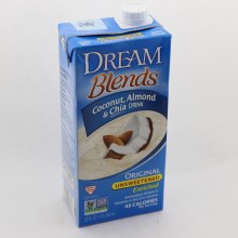 Dream Blends Coconut, Almond & Chia Drink & Original Unsweetened  32 oz